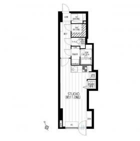 プラザロイヤル5ビル:基準階図面