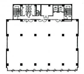 新亀戸ビル:基準階図面
