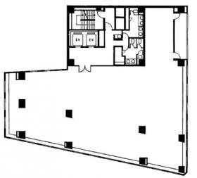 マニュライフプレイス九段南:基準階図面