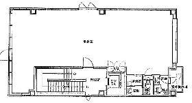 東越六番町ビル:基準階図面
