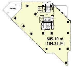 プライムタワー東陽町:基準階図面