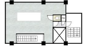 寺澤南砂ビル:基準階図面