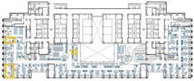 エグゼクティブセンター山王パークタワー:基準階図面