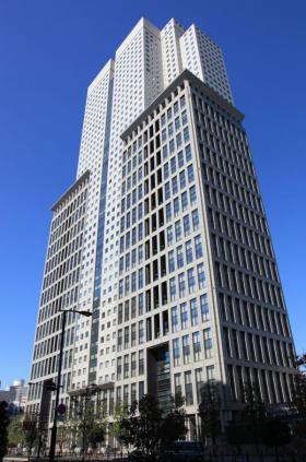 エグゼクティブセンター山王パークタワーのエントランス