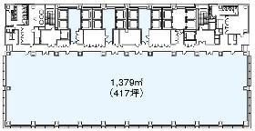 丸の内北口ビル:基準階図面