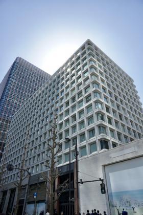 三菱ビルの外観写真
