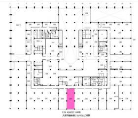 新東京ビル:基準階図面
