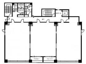 ノーブルコート平河町ビル:基準階図面