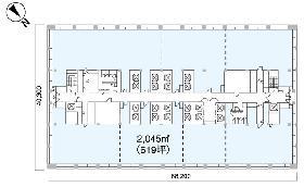 日比谷国際ビル:基準階図面