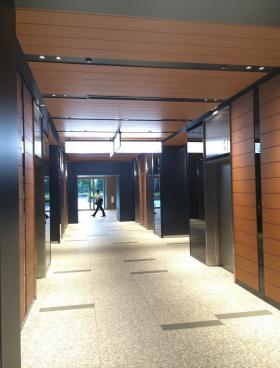 日比谷国際ビルの内装