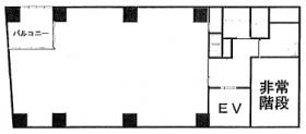 タチバナ日比谷ビル(旧UI):基準階図面