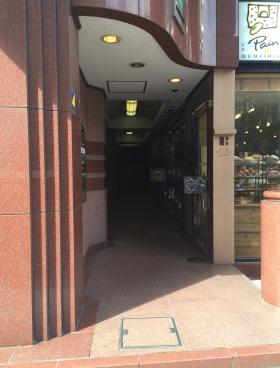 タチバナ日比谷ビル(旧UI)のエントランス
