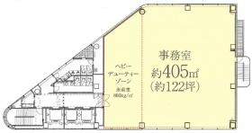 X-PRESS有楽町:基準階図面