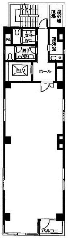 ニチヨビル:基準階図面