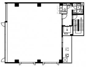 メットライフ三番町:基準階図面