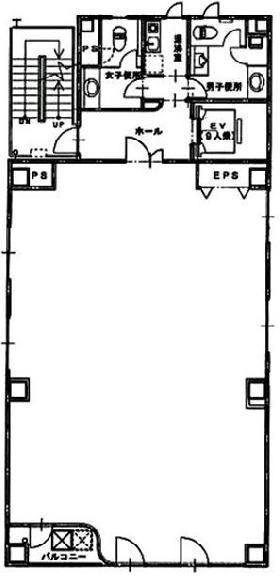 千洋ビル:基準階図面