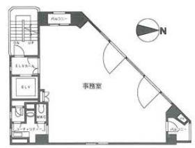 パシフィックスクエア麹町:基準階図面