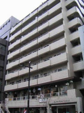 朝日六番町マンションビルの外観写真