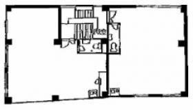 番町1番館:基準階図面