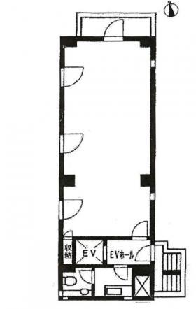 南信堂ビル:基準階図面