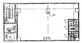 第3東郷パークビル:基準階図面