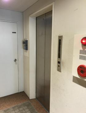 新富191ビルの内装