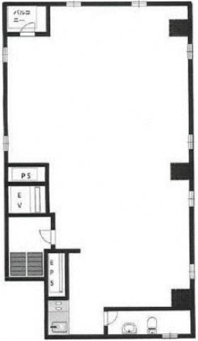第二中央ビル:基準階図面