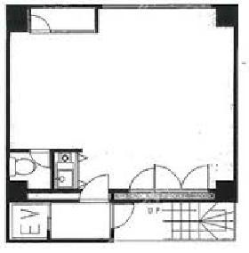 九段下ASNビル(旧:九段下高橋ビル)ビル:基準階図面