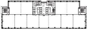 武蔵小杉STMビル:基準階図面