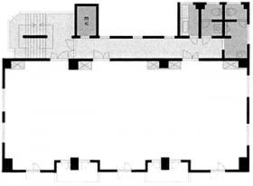 メゾン萬六ビル:基準階図面