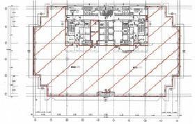 武蔵小杉タワープレイス:基準階図面
