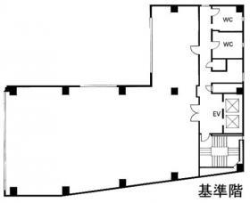 AMINAKA九段ビル:基準階図面