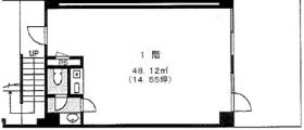 B・Rロジェビル:基準階図面
