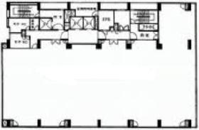 飛栄九段北ビル:基準階図面