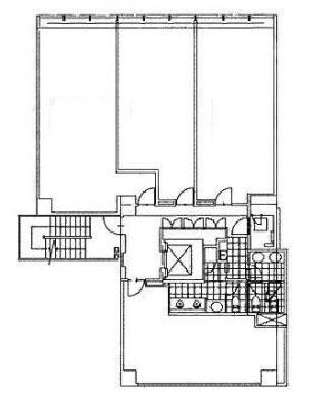 VORT平河町(旧ビュレックス平河町):基準階図面