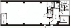 万代半蔵門ビル:基準階図面