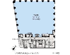アクロス新川ビル・アネックス:基準階図面