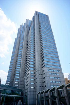 新宿パークタワーの外観写真