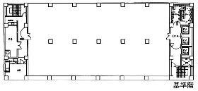 京急第2ビル:基準階図面