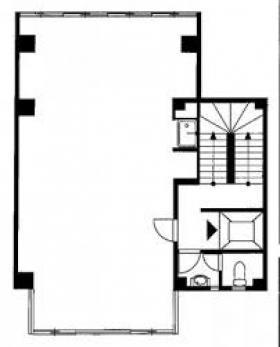 増田金属ビル:基準階図面