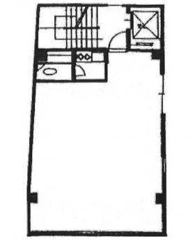モリカワビル:基準階図面