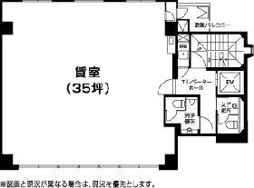 楠本第3ビル:基準階図面