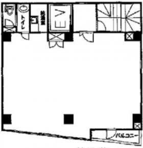 秋葉原STビル:基準階図面