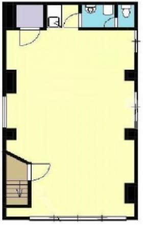小西ビル:基準階図面
