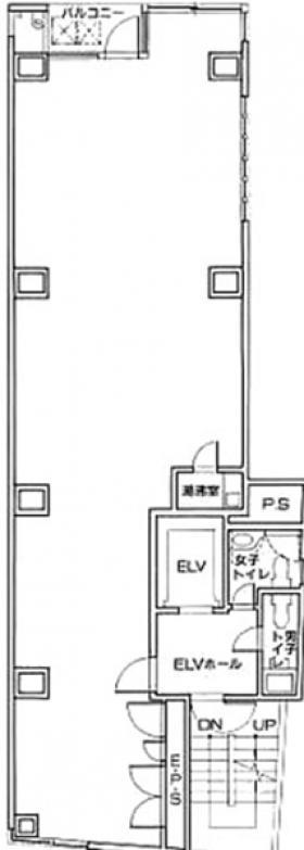 アークビル:基準階図面