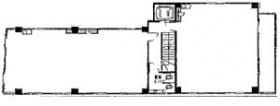 本間屋ビル:基準階図面