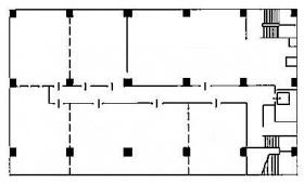 喜助新神田ビル (旧共同ビル(新神田)):基準階図面