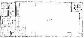 第2大藪ビル:基準階図面