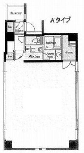 デュープレックス銀座タワー8/14:基準階図面