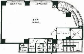 岩本町田中ビル:基準階図面